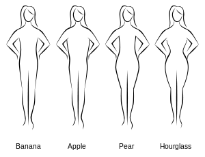 Most common Body Shapes. Which style are you?